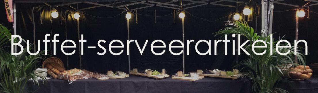 Buffet-serveerartikelen