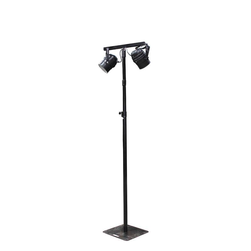 Lichtmast Wentex 3 m, 2 x LED par 54 kleur