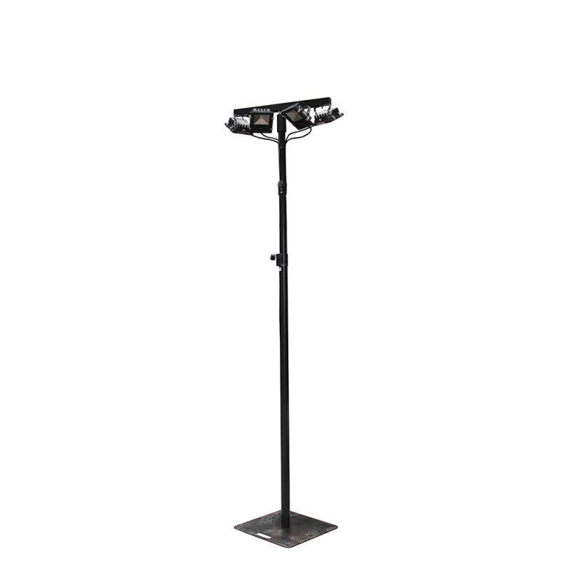 Lichtmast Wentex 3 m, 4 x LED spot wit 1400LM