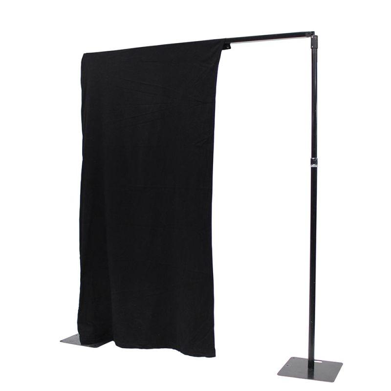 Theaterdoek zwart 4 meter
