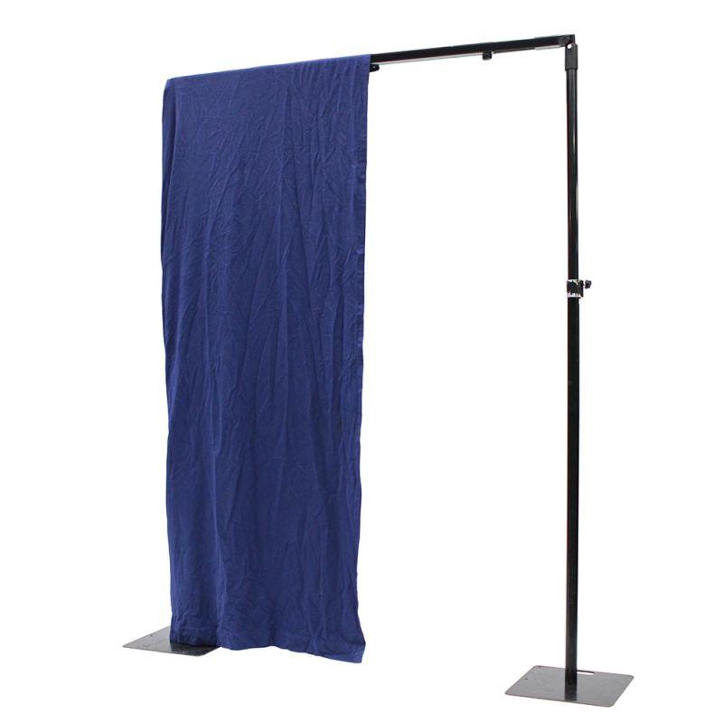 Theaterdoek blauw 3 meter