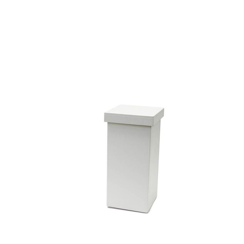 Decozuil 90 cm hoog Bianco