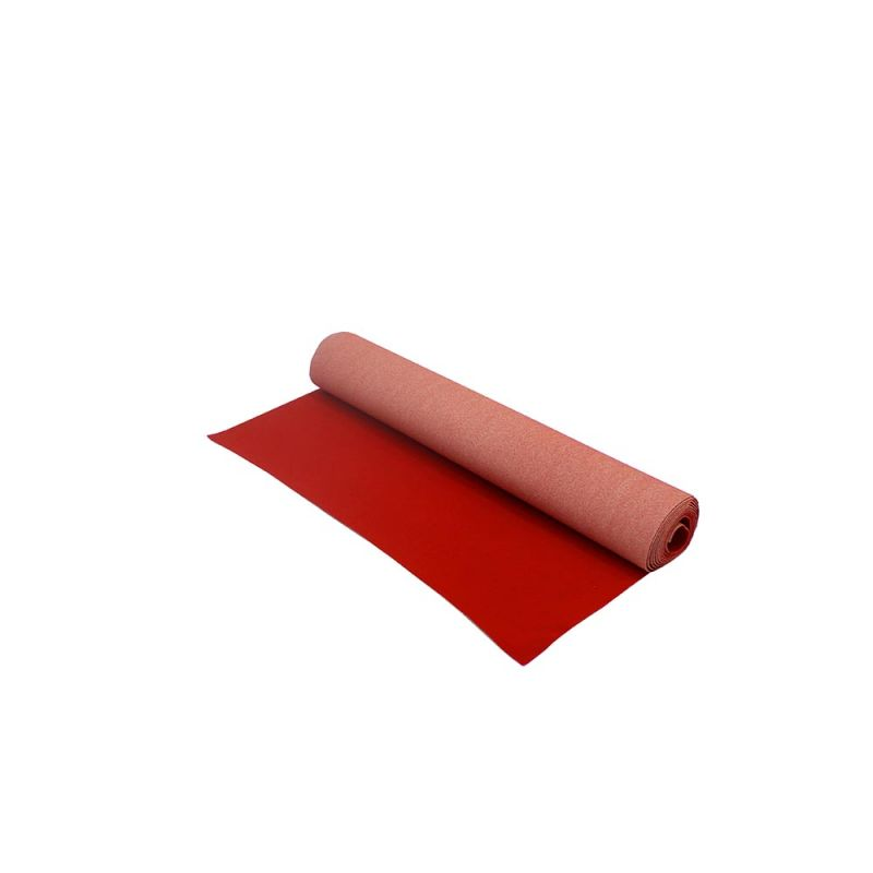 Rode loper 1m breed