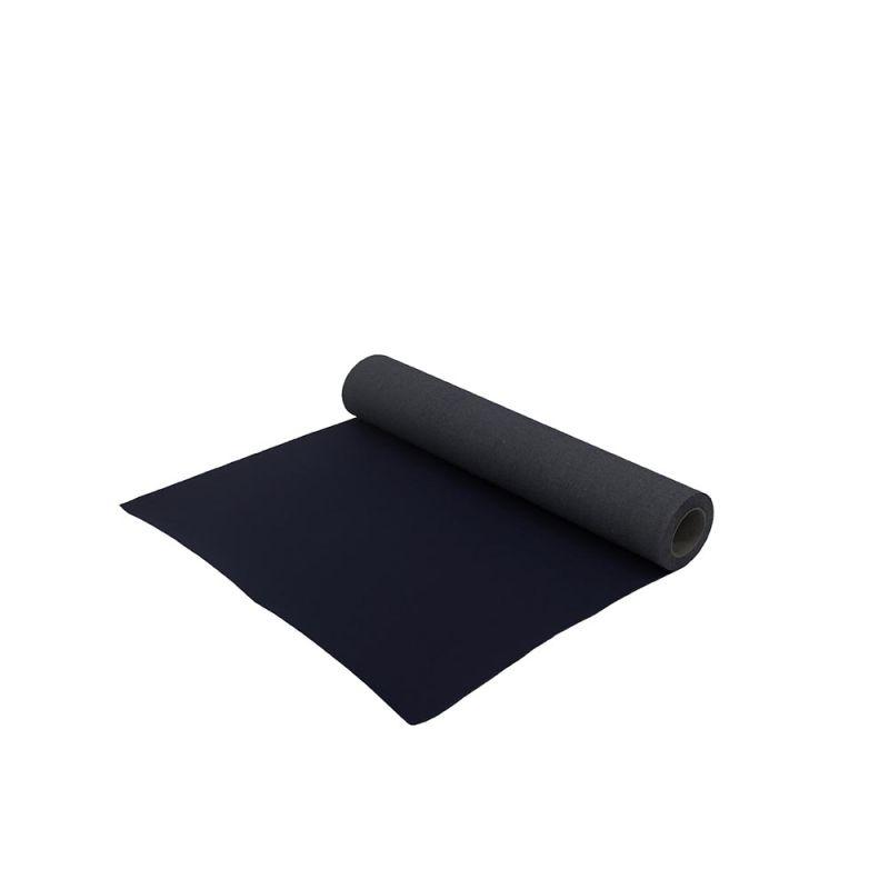 Zwarte loper 1 m breed