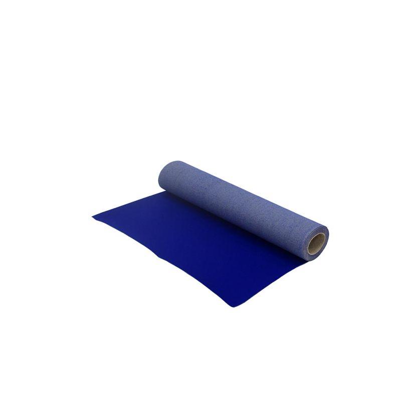 Blauwe loper 1 m breed