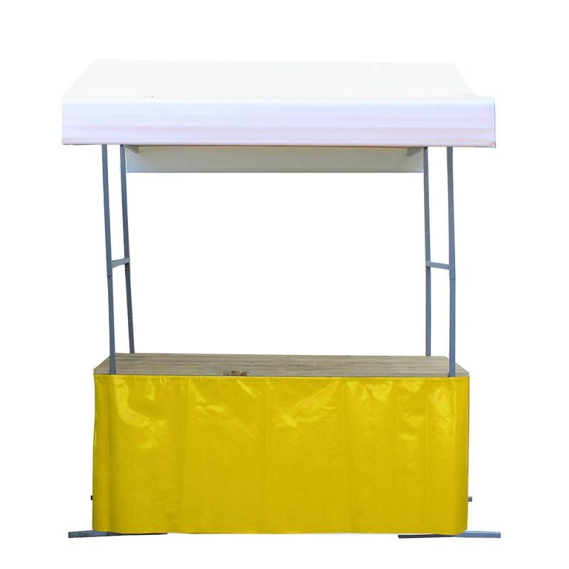 Marktkraam rok geel