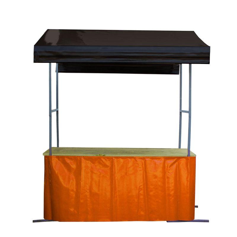 Marktkraam rok oranje