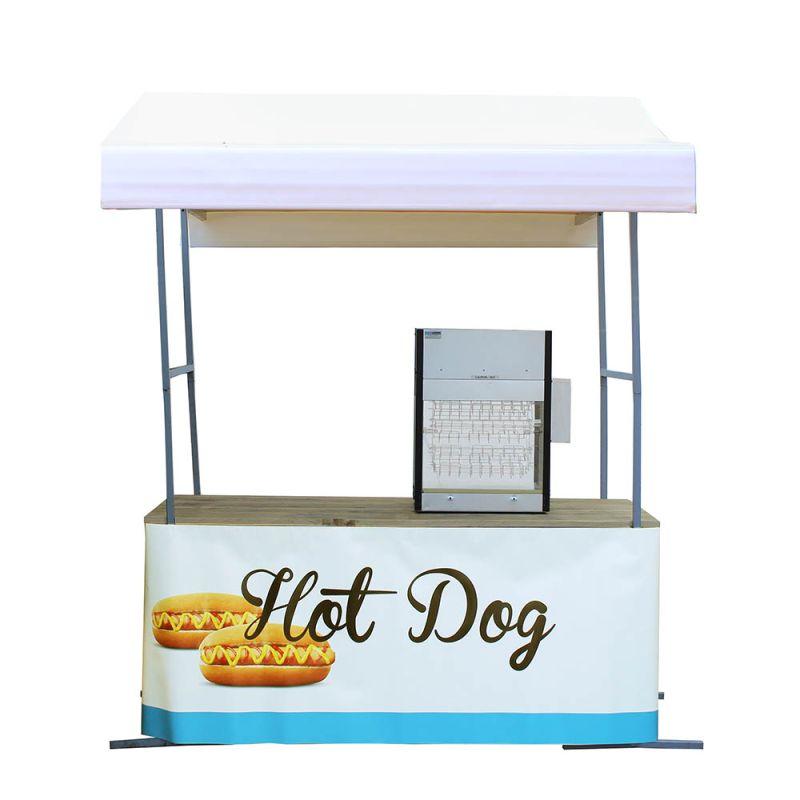 Hotdogkraam wit