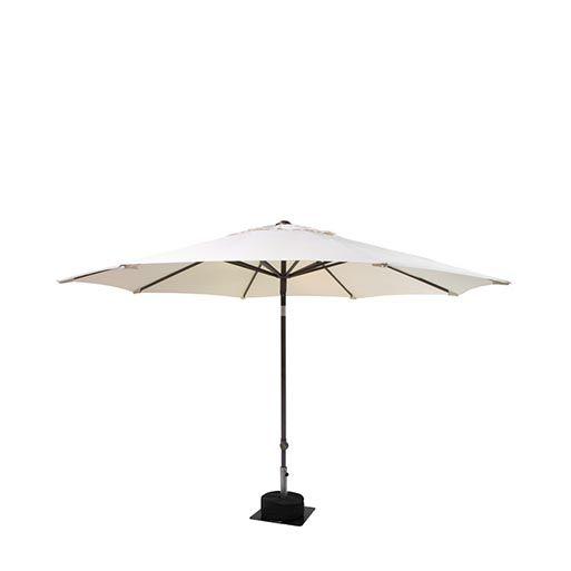 Parasol ecru rond 300 cm