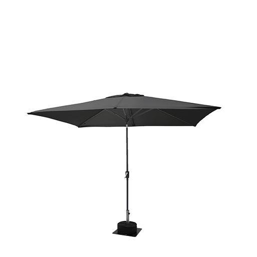Parasol zwart 300 x 200 cm