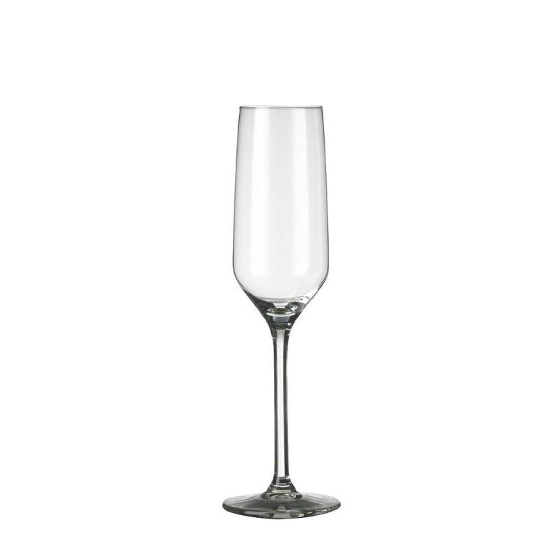 40 x champagneflute Carre 22 cl in krat