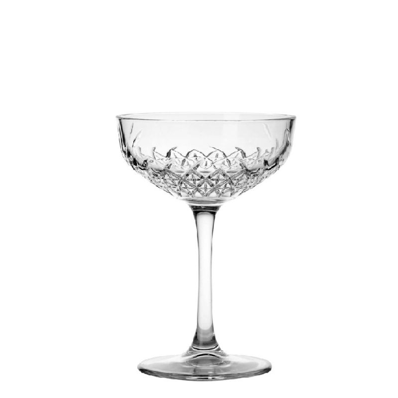 15 x champagne-/cocktail coupe Timeless 25,5 cl in krat