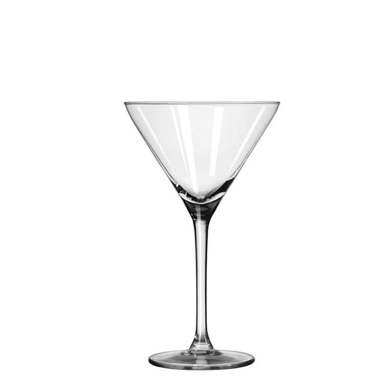 15 x cocktailglas / martiniglas 19 cl in krat
