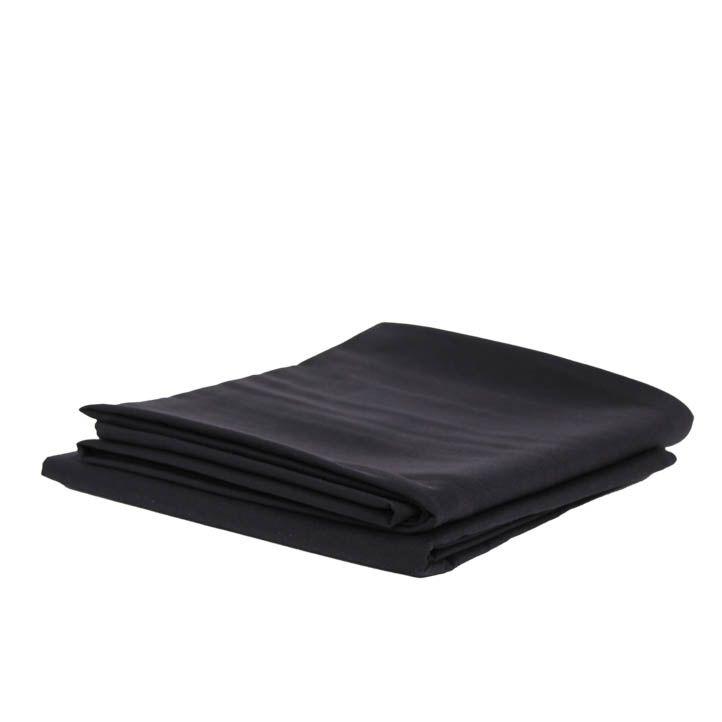 Laken zwart 160 x 160 cm