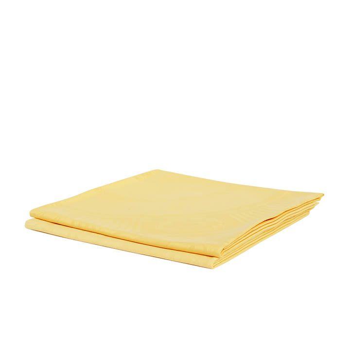 Laken geel 160 x 160 cm