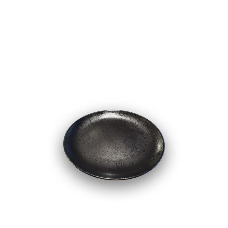 Plat coupebordje 18cm Karbon Rak