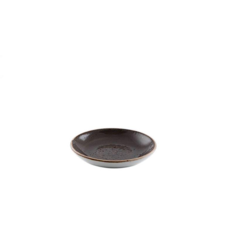 Schaaltje 13 cm bruin Steelite