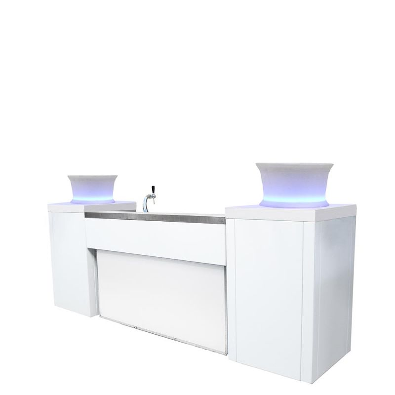 Bar met biertap Bianco XL