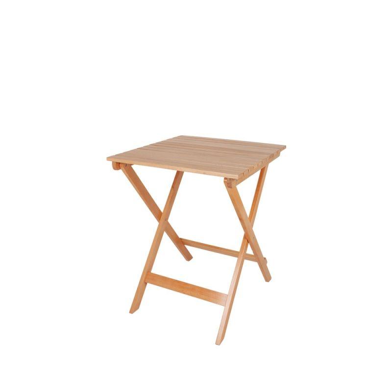 Bistrotafel hout
