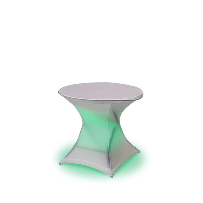 Terrastafel rond LED
