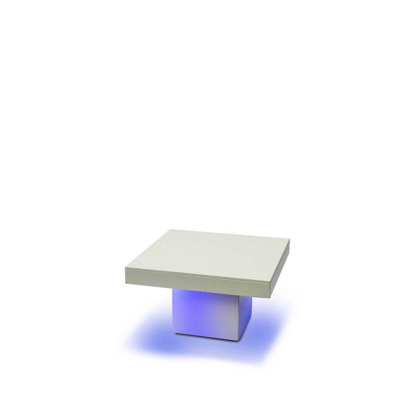 Loungetafel Bianco LED