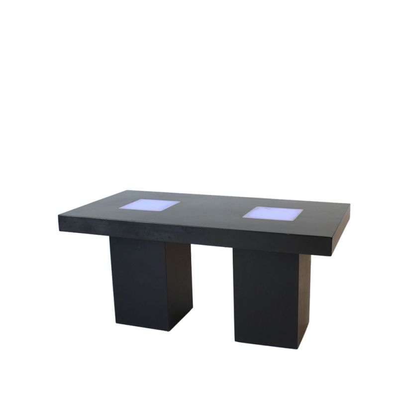 Tafel XL Nero LED