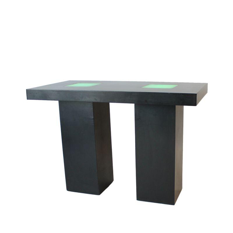 Statafel XL Nero LED