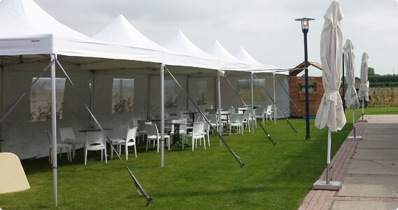 Tent-ups